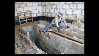 видео Как сделать смотровую яму в гараже