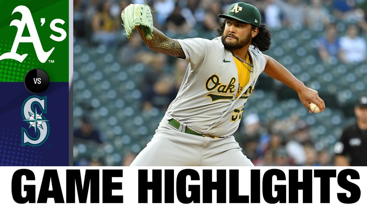 Download A's vs. Mariners Game Highlights (7/22/21)   MLB Highlights