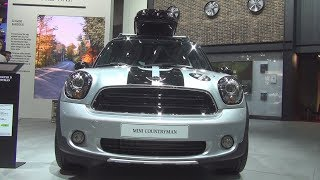 MINI Cooper D Countryman ALL4 112 hp (2017) Exterior and Interior