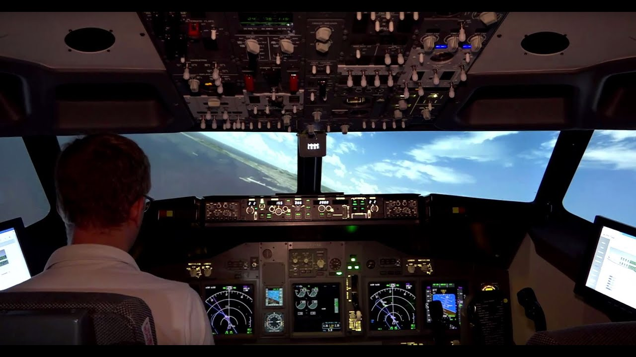 atterrissage à ibiza en boeing 737 800 depuis le cockpit hd youtube