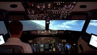 Atterrissage à Ibiza en Boeing 737-800 depuis le cockpit (HD)