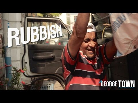 RUBBISH • Small Business Recycling Center • George Town • MALAYSIA