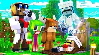 Minecraft Daycare - R.I.P BEST FRIEND! W/ MOOSECRAFT (Minecraft Kids Roleplay)