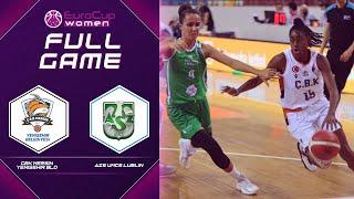 CBK Mersin Yenisehir Bld v Pszczolka Polski Cukier AZS UMCS Lublin | Full Game EuroCup Women 2021-22