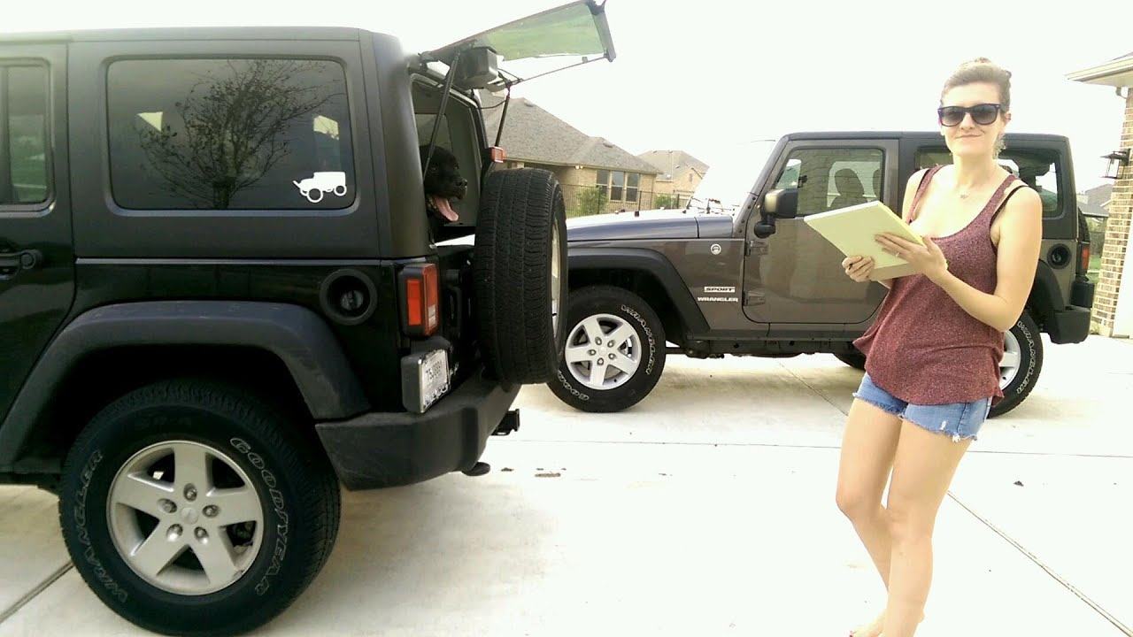 Jeep Build Sheet >> How To Build A Jeep With Jeep Girl Jeep Build Sheet Youtube
