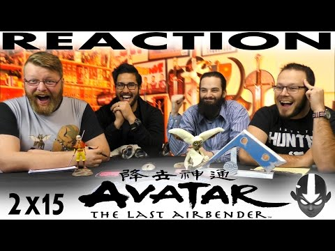"""Avatar: The Last Airbender 2x15 REACTION!! """"Tales of Ba Sing Se"""""""
