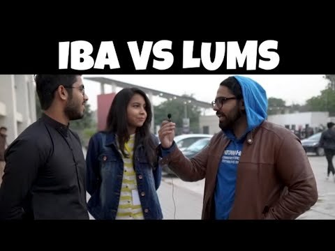 IBA VS LUMS | Walkie Talkies | Ali Zar