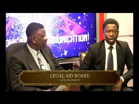 LEGAL AID HOUR. FEBRUARY   3   2016. STAR TV PROGRAM