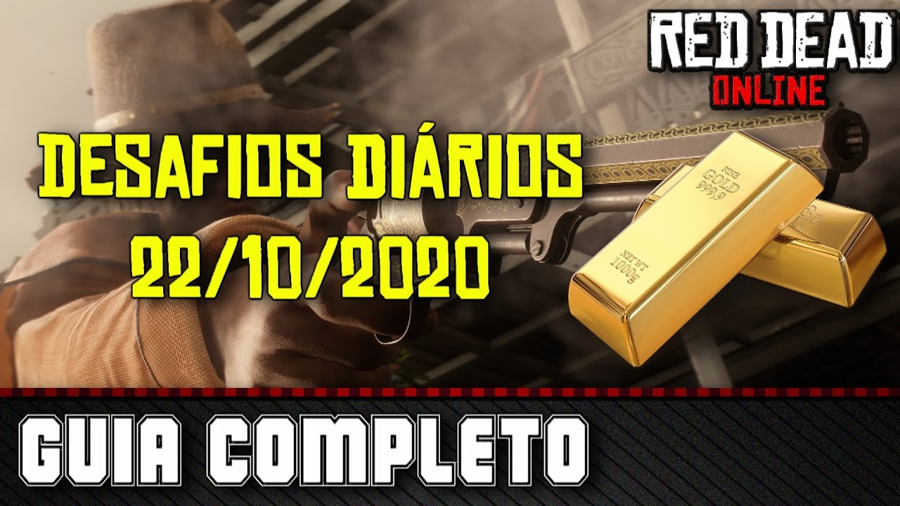 Desafios Diários - Red Dead Online 22/10/2020