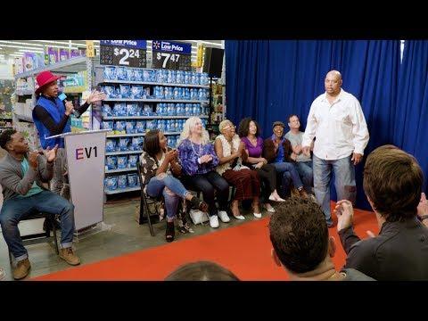 Ellen Releases Walmart EV1 Winter Collection with Surprise Fashion Show Hosted by Kalen Allen