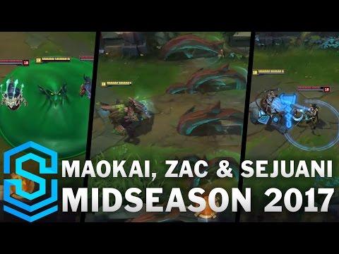 Maokai, Zac & Sejuani | Tank Roster Update - Midseason 2017