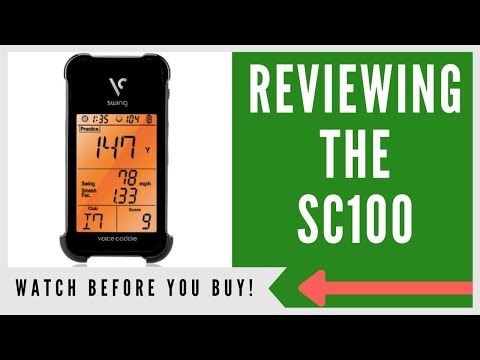 Swing Caddie Sc100 Golf Launch Monitor An Honest Review