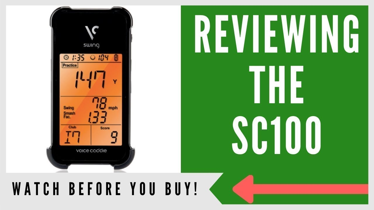 Voice Caddie Sc100 Portable Launch Monitor Review