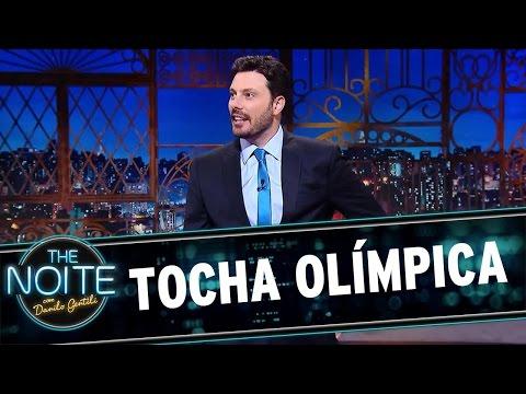 The Noite (18/05/16) - Monólogo sobre a Tocha Olímpica