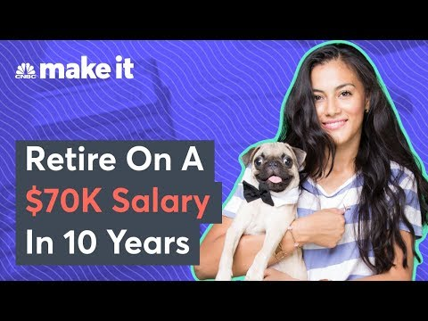 How To Retire In 10 Years On A $70,000 Salary
