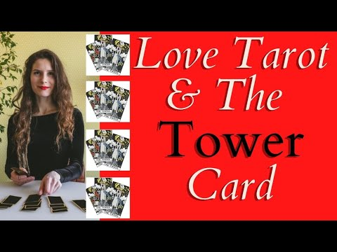 Love Tarot and The Tower Card ❤ Time For Things To Change