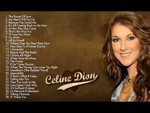 Celine Dion Greatest Hits   My Heart Will GO on; Immortality; I Drove All Night