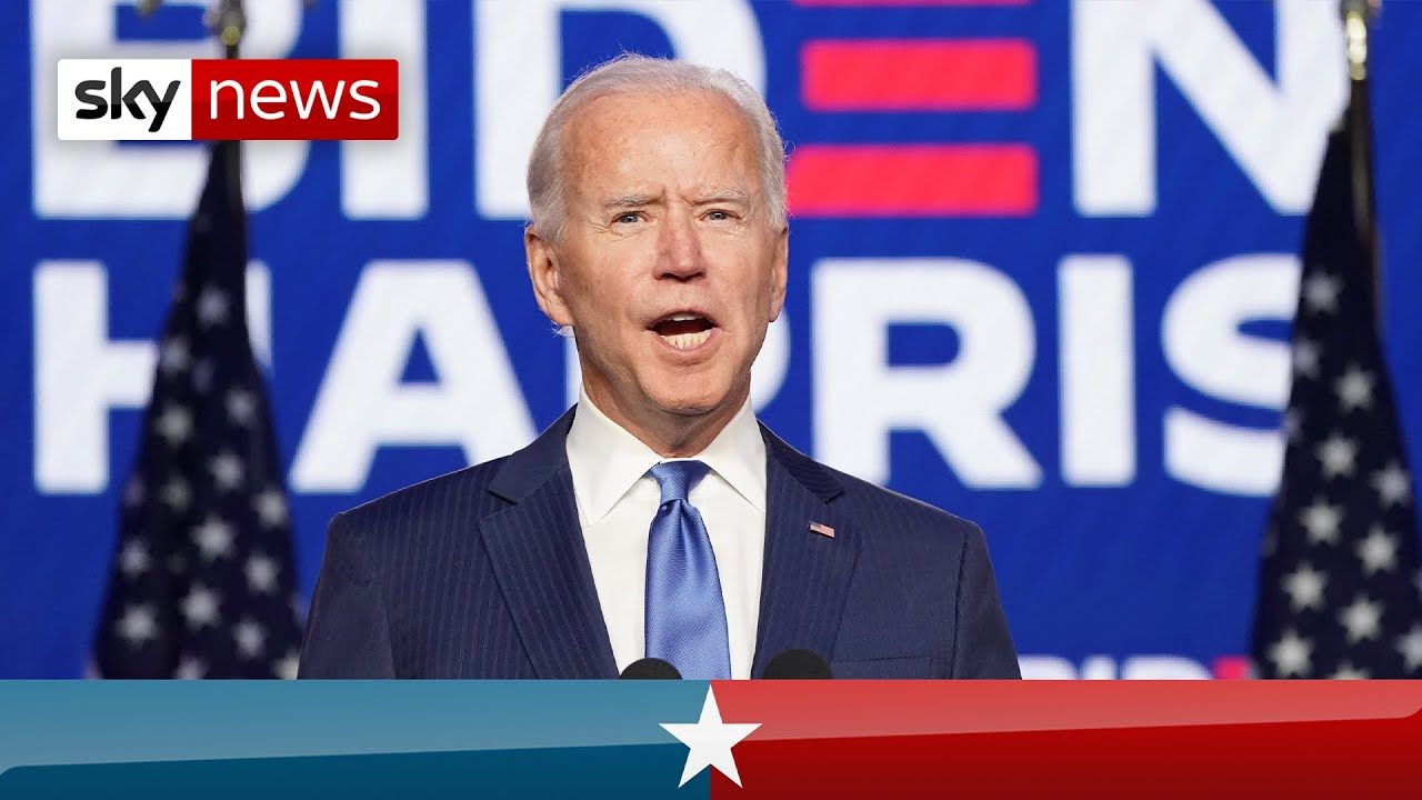 US Election: Biden says he has 'clear majority' for convincing win