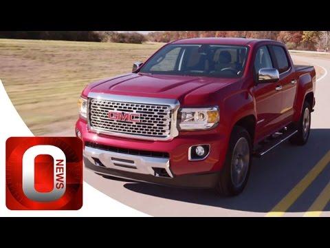 2017 GMC Canyon Denali • Driving Footage [HD] (Option Auto News)