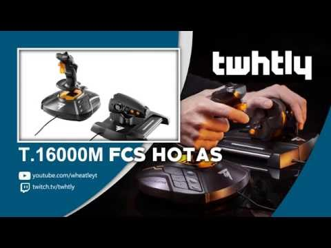 Thrustmaster T16000M FCS HOTAS Unbox, Details & Opinions - YouTube
