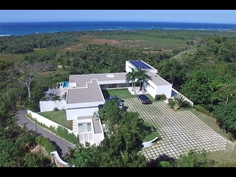 Luxury Villa with Hilltop Ocean Views in Las Terrenas, Dominican Republic