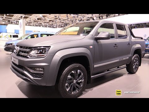2019 Vokswagen Amarok Dark Label - Exterior and Interior Walkaround - 2018 IAA Hannover