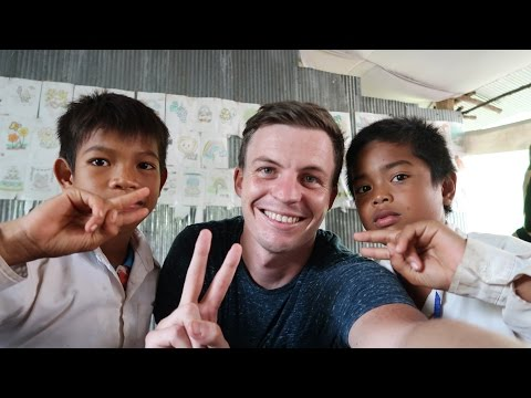 WE BUILT A PLAYGROUND IN RURAL CAMBODIA - Pt. 1