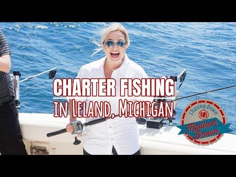 LELAND, MI: Charter Fishing On Lake Michigan