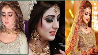 Beautiyfull Bridal Dresses | Latest bridal makeup l braidal dresses in pakistan