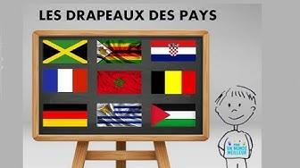 Apprendre les drapeaux des pays