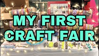 MY FIRST CRAFT FAIR VLOG | Alex's Innovations