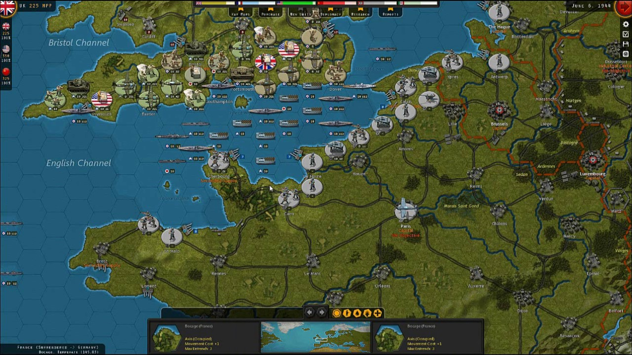 Strategic Command WW2: War in Europe - Learning the D Day