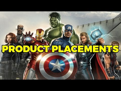 The Avengers: All The Product Placements (Quickie)