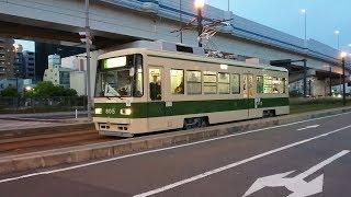 広島電鉄800形805号 海岸通〜元宇品口