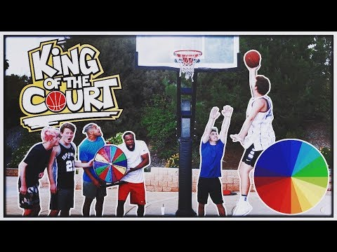 2HYPE KING OF THE COURT BASKETBALL! SPIN THE WHEEL EDITION! Episode 4