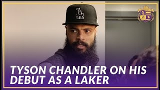 Lakers Post Game: Tyson Chandler Talks About His First Game As A Los Angeles Laker