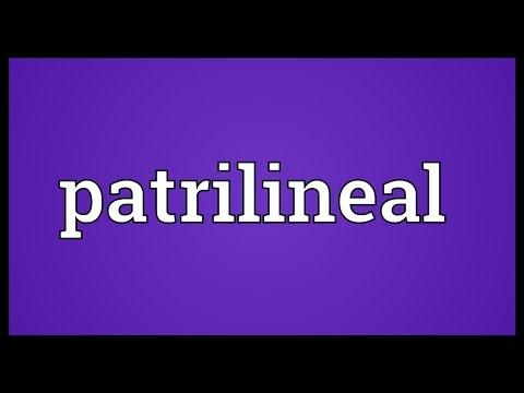 Header of patrilineal