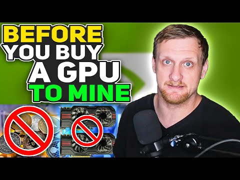 Watch This Before You Buy Another GPU For Crypto Mining