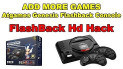 Add More Games Sega Genesis Flashback HD Atgames Hack