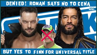 WWE SMACKDOWN 7/23/21 REVIEW: ROMAN REIGNS REJECTS CENA, AGREES TO FACE BALOR FOR UNIVERSAL TITLE