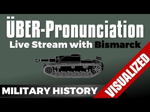 Über-Pronounciation Guide - German & Austrian + Squirrels featuring Bismarck