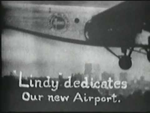 Historic footage of Kansas City Downtown Airport