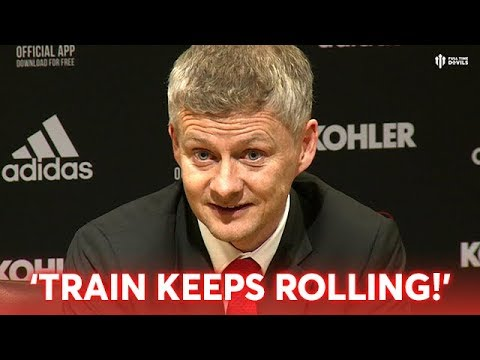 """Solskjaer Press Conference: """"If the Train Keeps Rolling!"""" Manchester United 2-1 Brighton"""