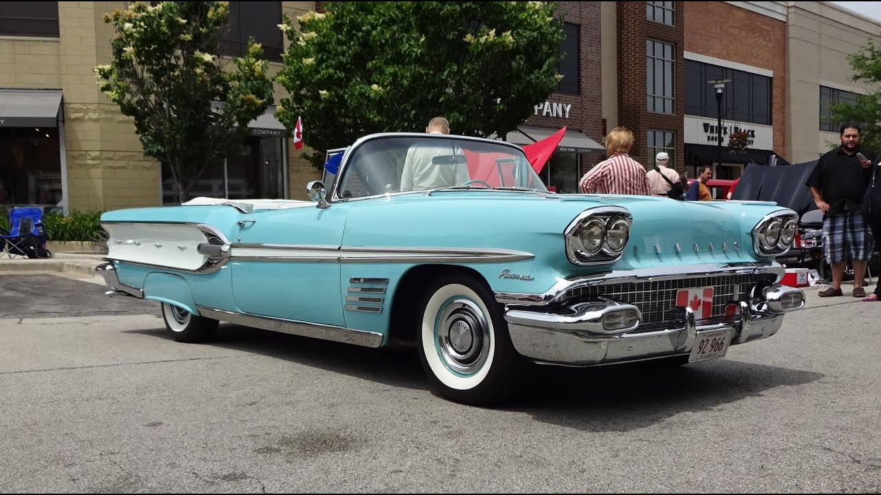 Pics photos 1958 pontiac for sale - 1958 Pontiac Parisienne Convertible In Tropicana Turquoise On My Car Story With Lou Costabile