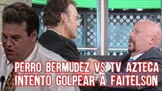 Conoce el Día que el Perro Bermúdez Intentó G0lpear a David Faitelson y su Rivalidad con José Ramón