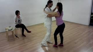 Школа танцев Чино - Вадим, Надя и Настя репетируют перед конкурсом бачаты