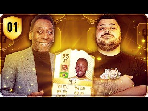 ROAD TOP BRAZIL TEAM CON PELE' LEGEND !!! [FIFA 17] #1
