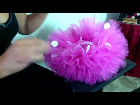How To Add Minnie Mouse Dots To Your Tutu