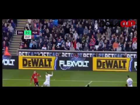 Download Swansea City 1 - 3 Manchester United All Goals - Premier League | 06/11/16