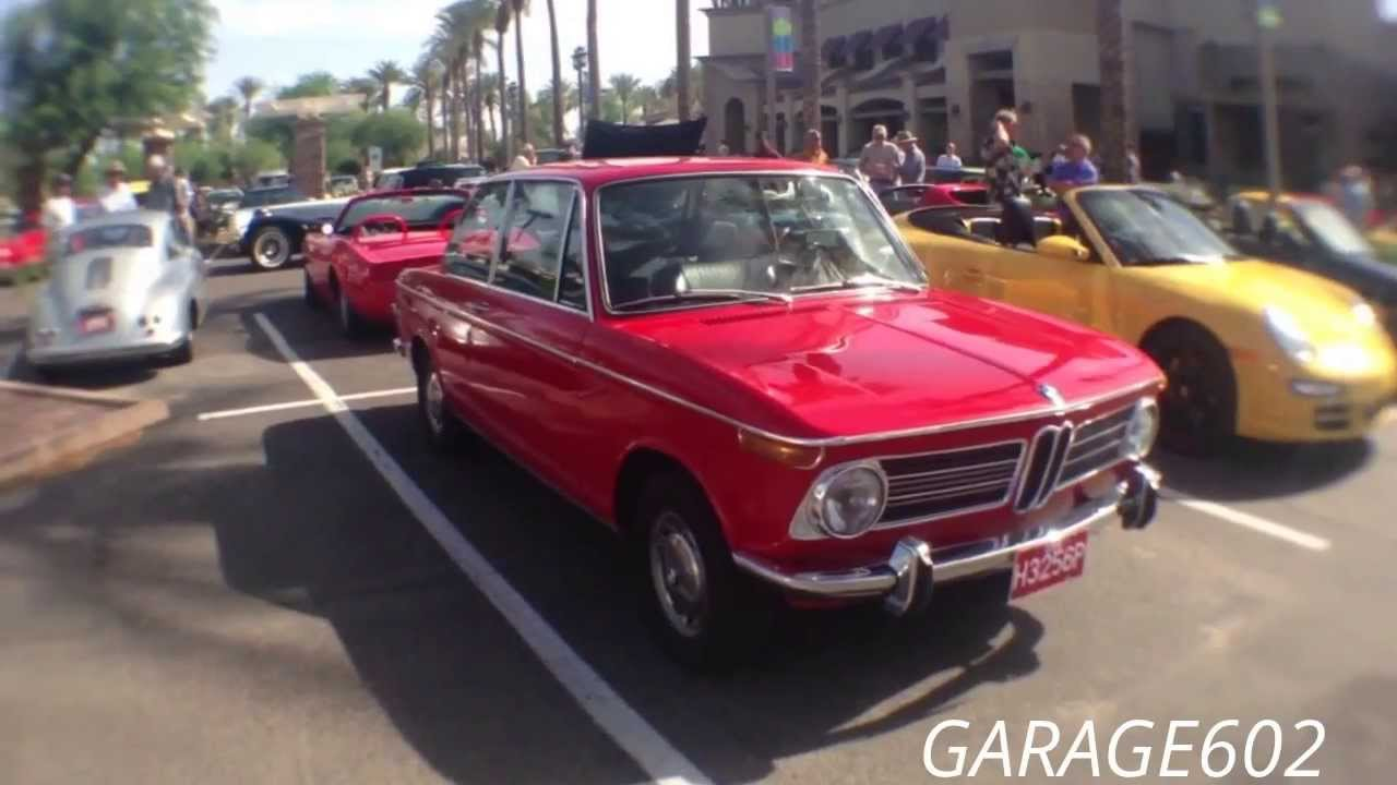 BMW 2002 Roundie Classic Coup at Cars and Coffee Scottsdale  YouTube
